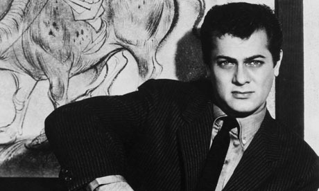 tony curtis young. with Tony Curtis,