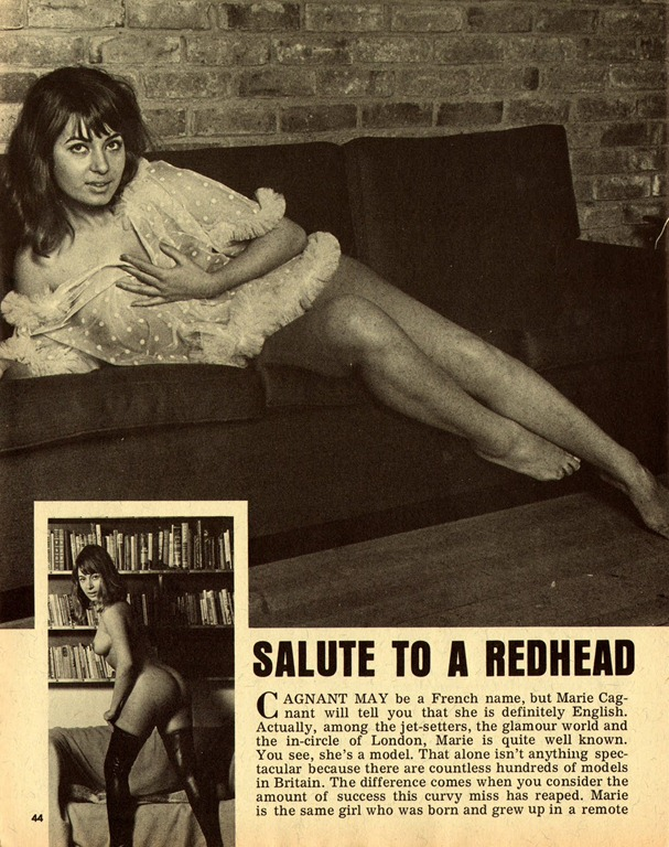 vintage girly mag scans