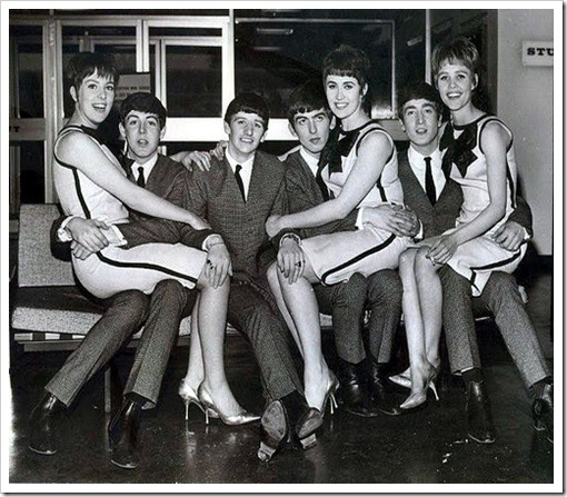 Vernon Girls with The Beatles