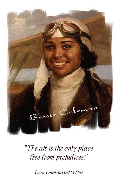 bessie coleman brave bessie essay Most adventure heroes are male and white, but the biography brave bessie: flying free is refreshingly different and gives young girls an exciting role model it tells the story of bessie coleman, who picked cotton in waxahachie as a child but grew up to fly bessie overcame many obstacles on her way to wowing airshow crowds no american flying school would accept her because i was indian, i.