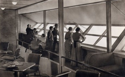 Hindenburg promenade deck
