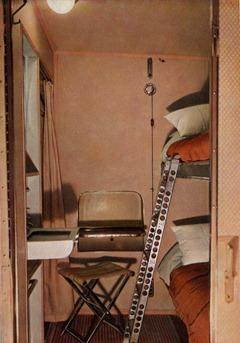 Hindenburg sleeping compartment