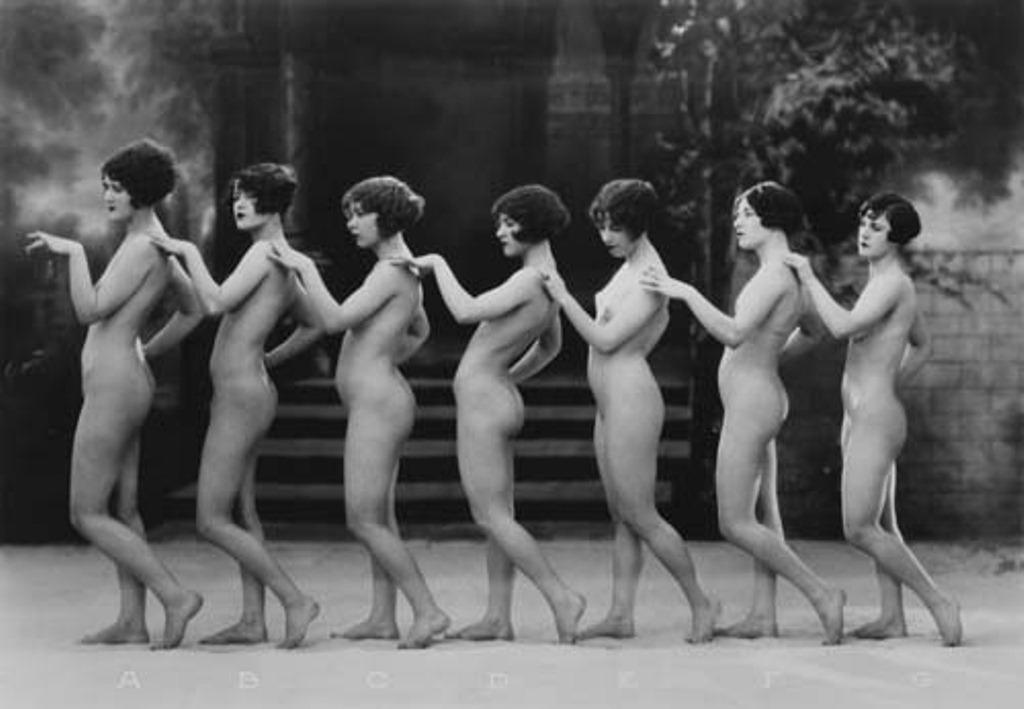 naked dancing porn