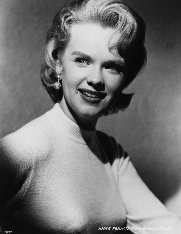 Will anne francis nude there's