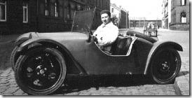 Josef Ganz in the Adler Maikäfer prototype, May 1931