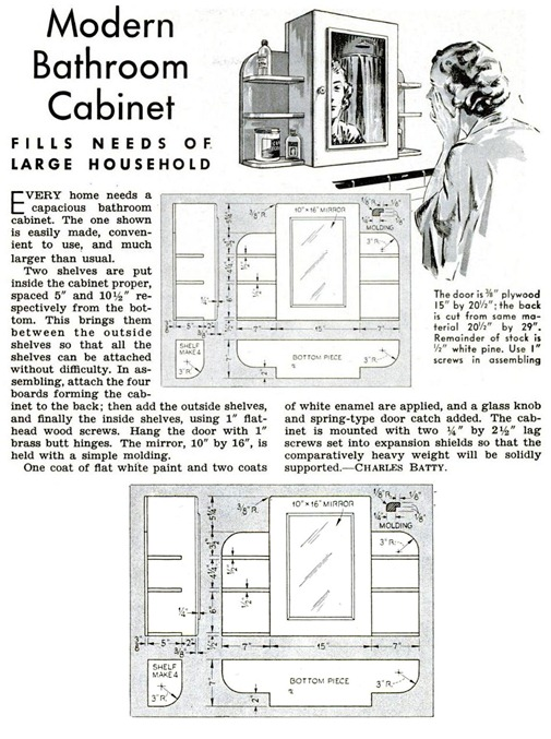 1939 bathroom cabinet