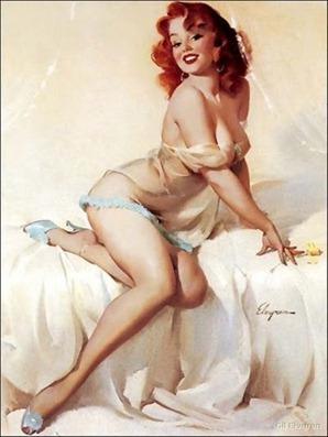 Gil Elvgren's Redheads - Via Retrorambling