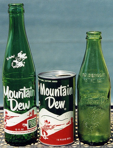 Mountain Dew Carbonated Soft Drink Retrorambling