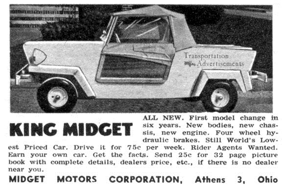 Can Midget motors supply more