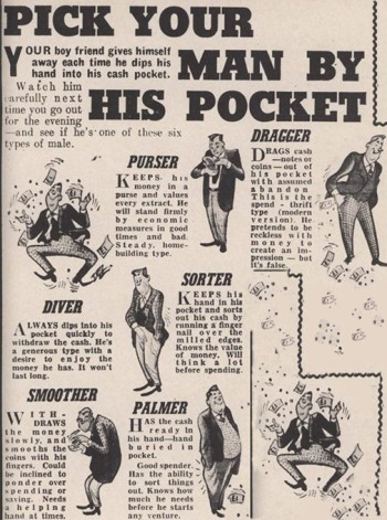 Retrorambling's Visitors Service - Part 17 - Pick Your Man By His Pocket