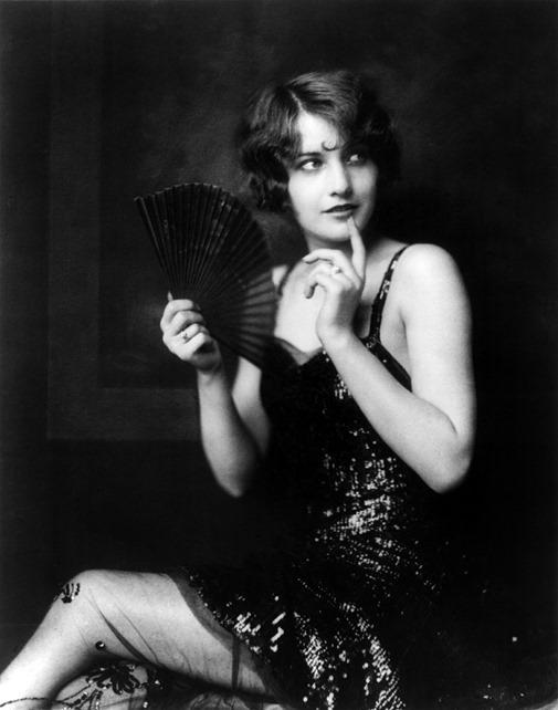Barbara Stanwyck, Ziegfeld girl, by Alfred Cheney Johnston, ca. 1924