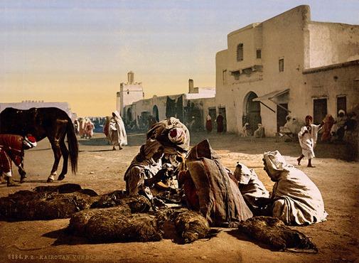 The market, Kairouan, Tunisia, ca. 1899