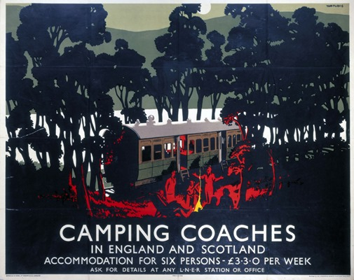 'Camping CoachesÕ, LNER poster, 1923-1947.