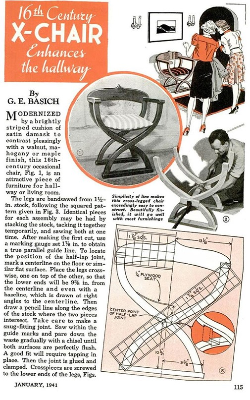 popular mechanics jan 1941 page 1