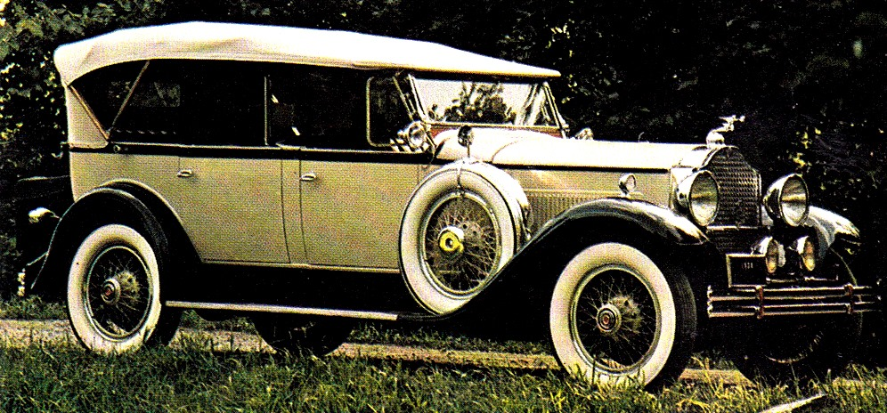 Great american cars of the forties 1940 packard one ten
