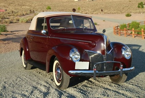 1940 - mercury club convertible