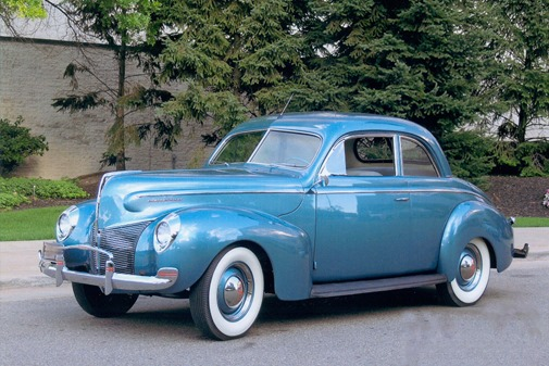 1940 - Mercury Sedan Coupe