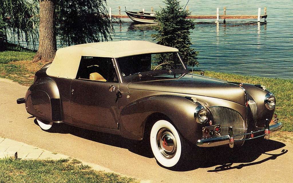 Great American Cars Of The Forties – 1941 Lincoln Continental ...