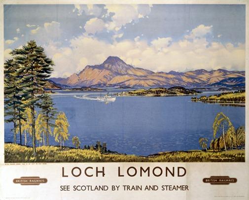 ÔLoch LomondÕ, BR poster, 1959.