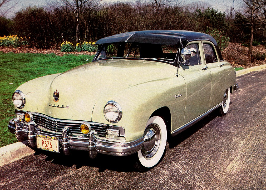 Great American Cars Of The Forties 1948 Frazer Manhattan