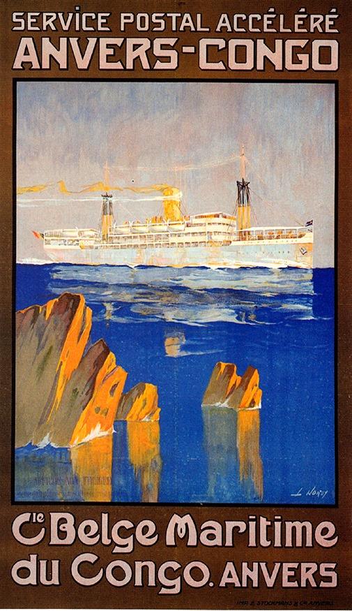 1921_Compagnie Maritime Belge du Congo