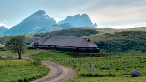 Lofotr Viking Museum Longhouse Norway