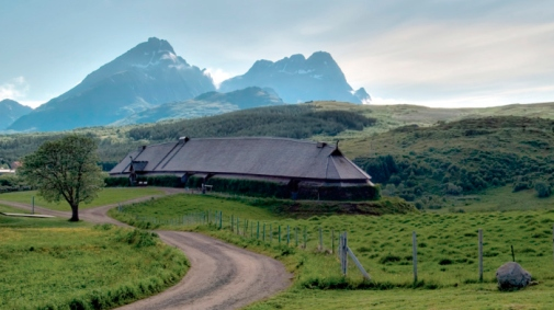 Lofotr Viking Museum Longhouse Norway